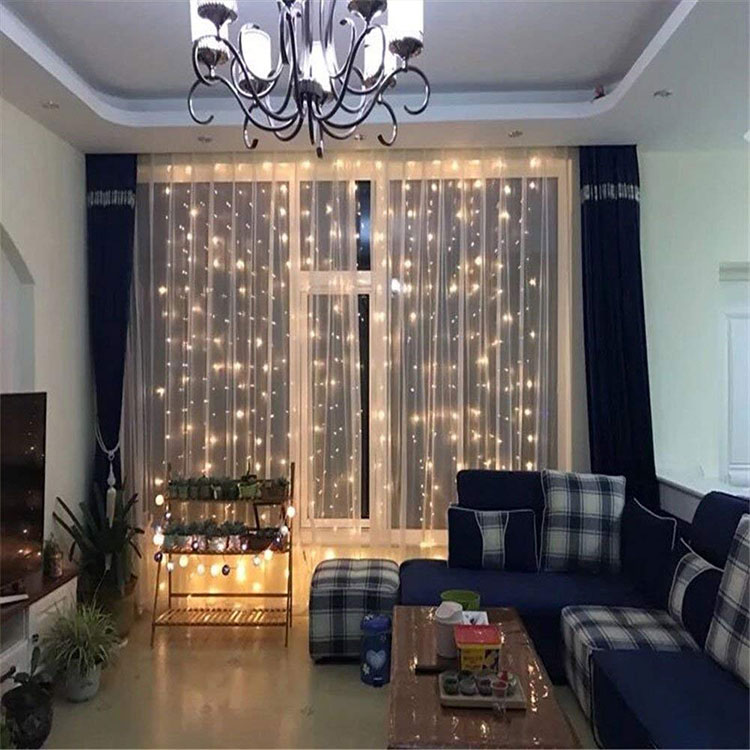 waterproof curtain light
