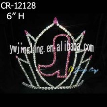 Rhinestone Pageant Crowns Boot Shoe Tiaras