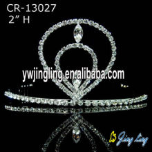 "2"" Small Crystal Princess Tiara"