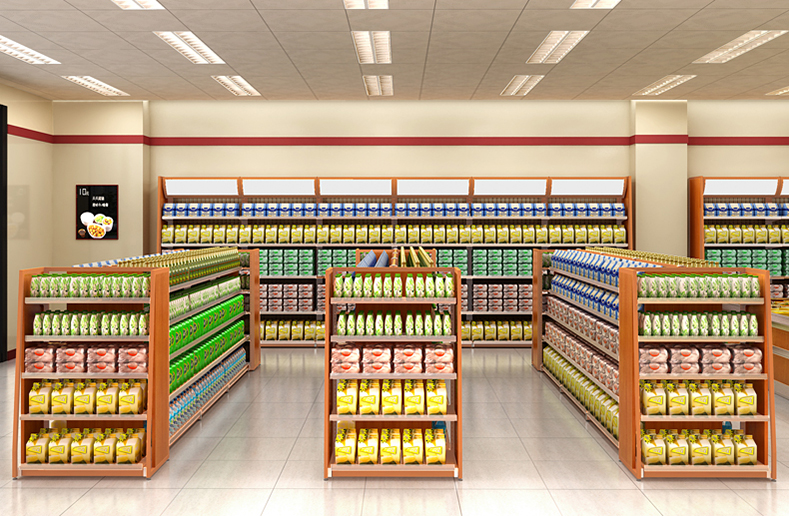 Supermarket Adjustable Shelves