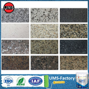 Granite stone spray wall coating colours