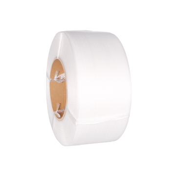 White PP Strap Roll Packing Belt
