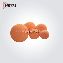Soft Concrete Pump Cleaning Rubber Sponge Ball