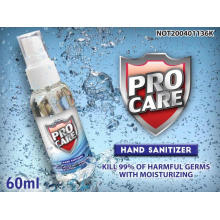 portable 60ml hand sanitizer  spray