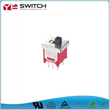Sliver Plated Sub-Miniature Slide Switch