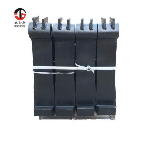 Heavy port forks for container using