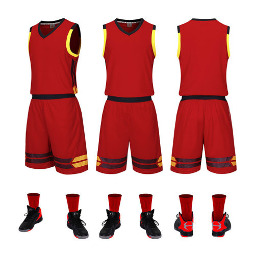 Best printing basketball uniform for men and kid