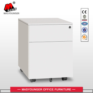 Lockable Two Drawers Mobile Pedestal