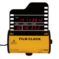 Yellow Horizontal Film Alarm Digital Clock