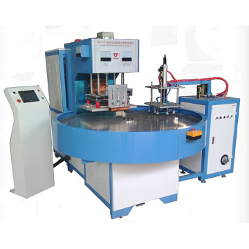 Turntable or rotary high frequency welding machine