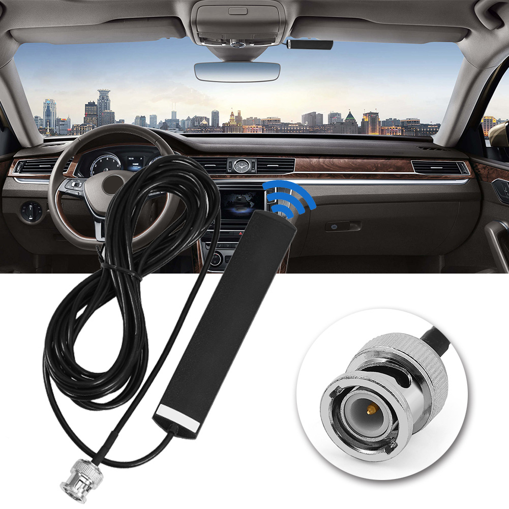 SOONHUA 3dB Gain Glass Mount Car Mobile Radio Antenna With BNC Connector Communication Antenna For Wideband Scanner