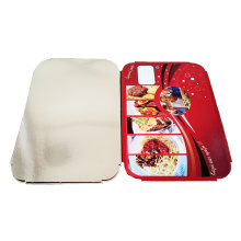 Lunch Box Cover Foil Lids