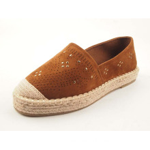 Women's Closed Toe Vivet Slip On Flat Espadrilles