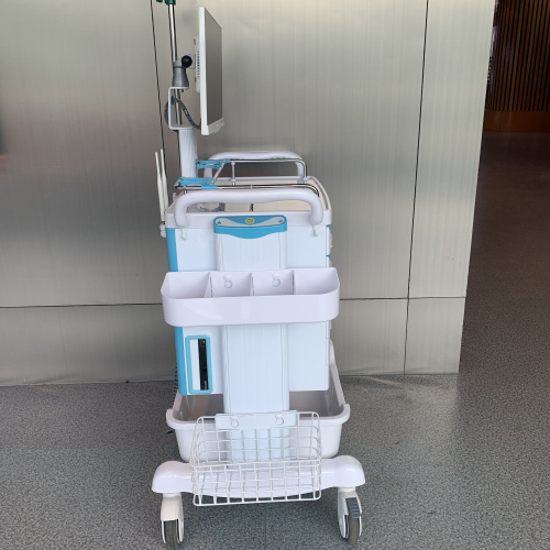 Mobile Nurse Workstation with Medication Cassette