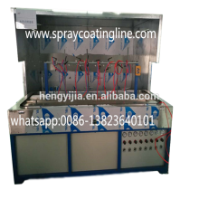 small automatic painting machine spray with uv curing