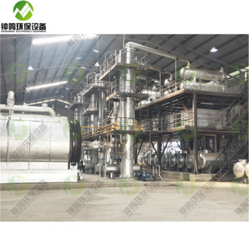 Purpose Of Waste Used Engine Oil Distillation