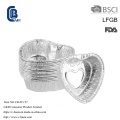Disposable Heart Shaped Aluminum Foil Baking Cake