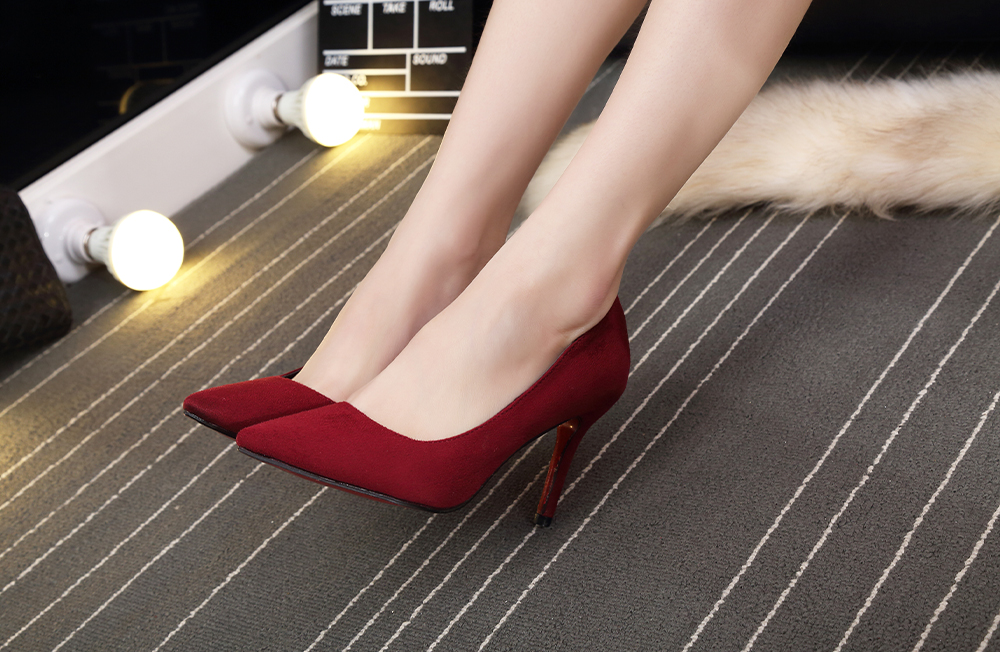 Pointed Toe High Heel