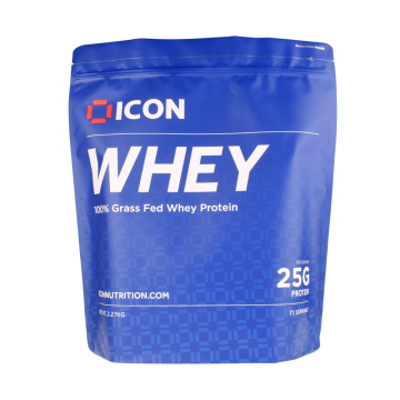 Custom 5kg protein powder Plastic Pouch packag bag