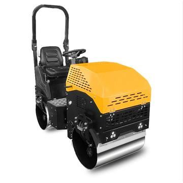 Good quality double drums road roller with seat