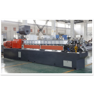 Twin screw plastic extruder machine