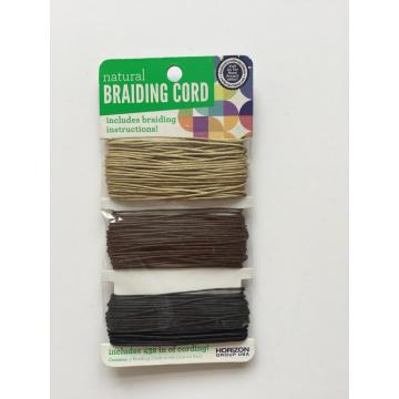 braiding cord assorted