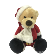 Plush Dog Merry Christmas