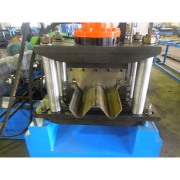 highway steel guardrail roll forming machine
