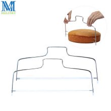 1pc Adjustable Wire Cake Slicer Stainless Steel Cake Cutter Leveler Single/Double Line Cake Bread Cutter Baking Pastry Tools