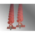 Chromium Carbide Overlay Screw Auger