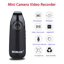 Boblov 007 Mini Camcorders Voice Recorder Police Pen Camara Body Worn Camera 32GB Snapshot Loop Recording Cam Motion Detection