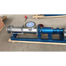 Industry self priming monoblock positive displacement mud sucking single rotary screw pump