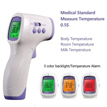 digital infrared forehead body thermometer gun non contact