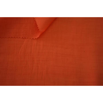 Rayon Polyester Slub Natural Crease Mark Tencel Fabric