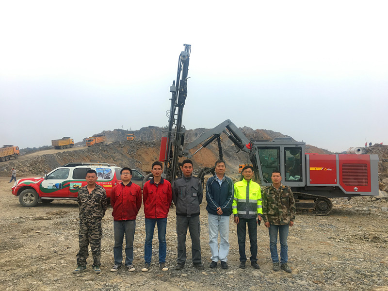 gia a7 mining drill rig 3