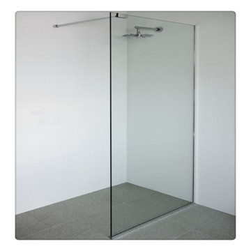 10mm Tempered Shower Glass with ASNZS2208