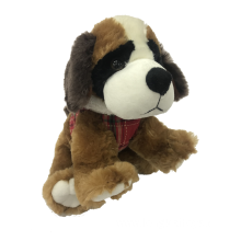 Plush Saint Bernard Animal Toy