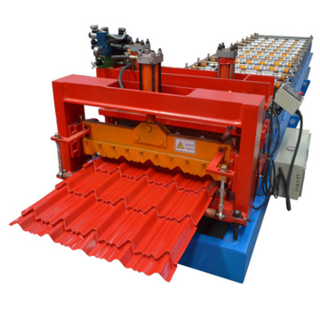 Metal Panel Sheet Glazed Roll Forming Making Machine