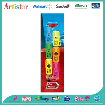 Disney Cars 6 color highlighters