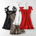 Women Chiffon Sling Short Mini Sexy dress