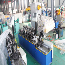 Metal ceiling channel roll forming machine
