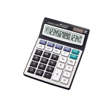 112 steps desktop calculator with big display