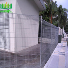 Factory Price Anti-climb Security Roll Top Fence Panels