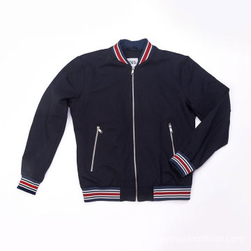 Male knit bomber jacket Spring-Summer