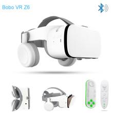2019 Bobovr Z6 Upgrade Casque Helmet 3D VR Glasses Virtual Reality Headset Bluetooth Earphone For Smartphone Google Cardboard