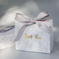 Paper candy box wedding favors