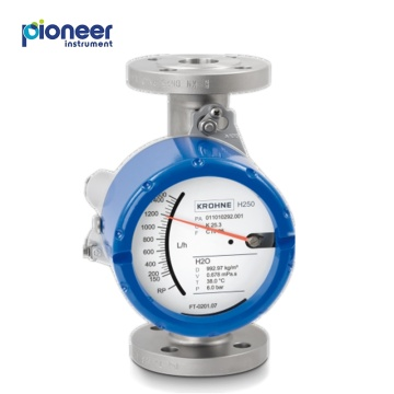 Krohne Metal Tube Variable Area Flow Meter