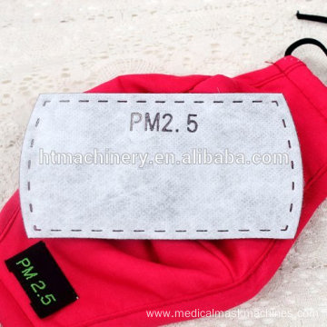 PM2.5 filter face mask machine