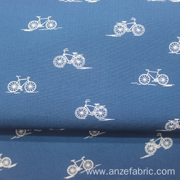 100 percent cotton shirting poplin check fabric