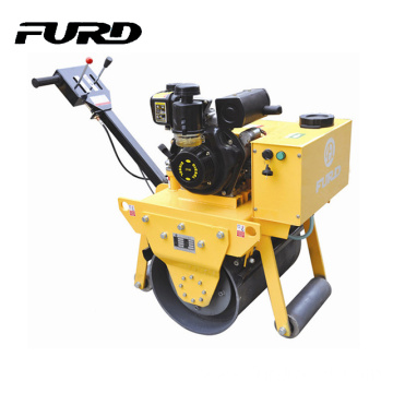 China Factory Single Drum Walk Behind Vibratory Roller